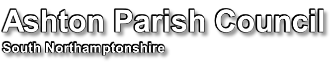 Ashton Parish Council South Northamptonshire